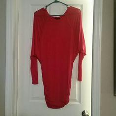 BCBG dress Red/magenta colored dress from BCBG, never worn BCBG Dresses Mini