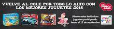 Celebra la vuelta al cole con los MEJORES JUGUETES 2015
