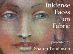 "Painting Faces on Fabric with Intense™ Watercolor Pencils is a Mini E-Course. This is the Faces video portion of the ""Tree Castle Apron"" cla. Painting Tips, Fabric Painting, Fabric Art, Thread Painting, Fabric Crafts, Sewing Crafts, Inktense Blocks, Derwent Inktense, Watercolor Pencils"