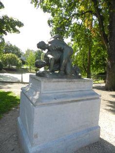 Les Lutteurs – Parc d'Avroy – Liège