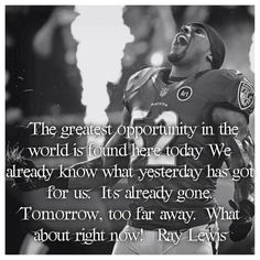 When this man talks, I listen. Athlete Motivation, Athlete Quotes, Self Motivation, Football Quotes, Football Boys, Sport Quotes, Sports Sayings, Ray Lewis Quotes, Mind Over Body