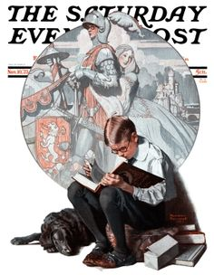 Norman Rockwell, 'Age of Romance', Nov. 10, 1923; The Saturday Evening Post cover.