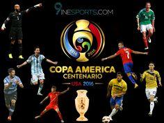 Copa America Centenario 2016 USA #9ine #CA16