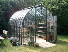 Serre et abris de jardin on pinterest sheds sons and for Serre de jardin fer forge