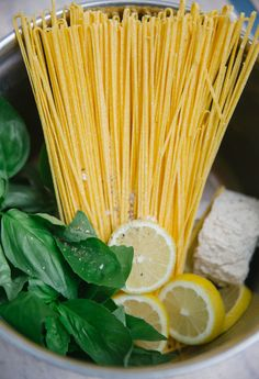 Any recipe that starts with 'Lazy Lemon Pasta' and looks *this* good has us signed up immediately.