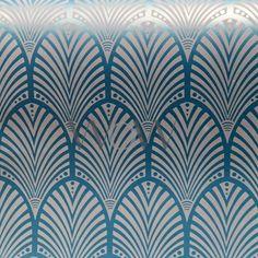 Gatsby Art Deco Glitter Wallpaper - Dove Grey and White - Holden Decor 65251