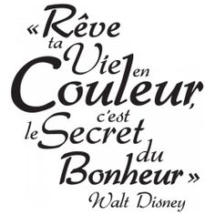 Le rêve de Disney