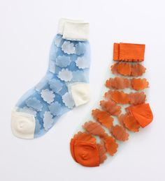 transparent socks