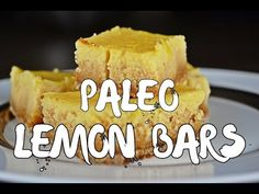 Mouth Watering Paleo Lemon Bars - Paleo Crash Course