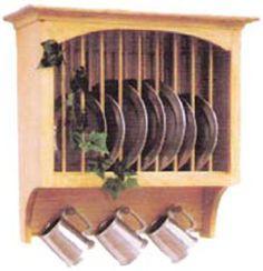 Al's Woodcraft's Wall Furniture - Kitchen Storage