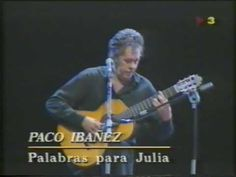 Paco Ibáñez - Palabras para Julia - YouTube Ibanez, Songs, Baseball Cards, Youtube, Light House, Words, Movies, Libros, Savages