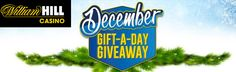 William Hill is giving away a whopping number of 500,000 free spins and match up bonuses till the 4th of January 2015! http://www.thebonuscasinos.co.uk/casino-news/99-william-hill-casino-giveaways-after-christmas.html
