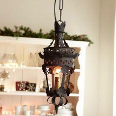 beautiful old - fashioned  lamp seen on loberon.de