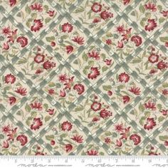 Moda French General Jardin De Versailles Pearl Gray Dahlia 13812 13 Cotton Fabric By the Yard Handi Quilter, French General, Moda Charm Packs, Tree Quilt, Basic Grey, Gorgeous Fabrics, Pearl Grey, Quilting Projects, Floral Prints