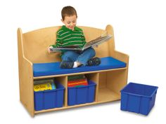 Perfect for my reading center!  Read & Relax Book Station  #LakeshoreDreamClassroom