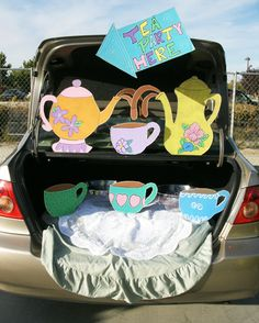 trunk r treat with disney theme | creativitylizette: November 2012