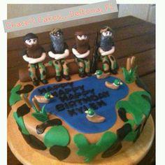 Duck Dynasty Birthday Cake - Chace's Cakes, Deltona, FL