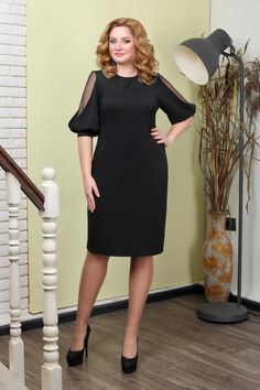 (68) Одноклассники Dress Outfits, Casual Dresses, Fashion Dresses, Plus Sise, Womens Dress Suits, Modelos Plus Size, African Attire, Sweet Dress, Lovely Dresses