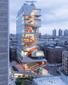 """""""2016 Best of Design Award in Facade Winner"""" Roy and Diana Vagelos Education Center by Diller Scofidio Renfro (2016). #decor #homedecor #exterior #architecture #architecturedesign #designers #design #designlife #lovelife"""