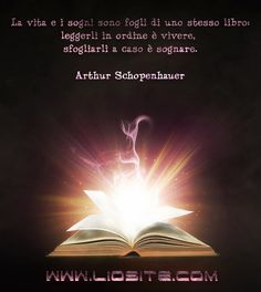 Arthur Schopenhauer - La vita e i sogni sono . Oscar Wilde Quotes, Special Words, Words Quotes, Happy New Year, Sentences, Einstein, Inspirational Quotes, Thoughts, Humor
