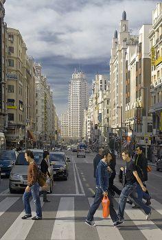 Edificio emblemático, la torre de Madrid
