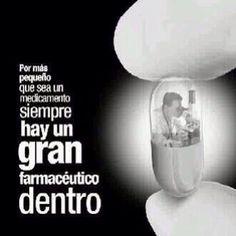 Orgullo de farmacéutico.