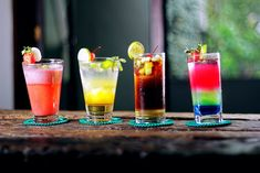 There is more to tequila than a margarita! Tequila cocktails are perfect for happy hour gatherings, parties, or to enjoy with chips and salsa! Vodka Martini, Tequila Shots, Cocktails For Parties, Fruity Cocktails, Easy Cocktails, Frozen Cocktails, Cocktails 2018, Famous Cocktails, Colorful Cocktails