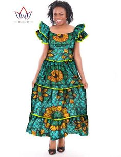 Gender: Women Estimated Delivery Time:12-20days.Sleeve Length(cm): Short Dresses Length: Ankle-LengthStyle: CasualSeason: SummerSleeve Style: Butterfly SleeveSilhouette: Ball GownMaterial: Polyester,CottonNeckline: O-NeckPattern Type: PrintDecoration: AppliquesWaistline: NaturalFabric Type: BatikMatieral: 100% CottonGe African Dashiki Dress, African Maxi Dresses, Latest African Fashion Dresses, African Print Fashion, African Attire, Long Summer Dresses, Short Dresses, Summer Dress Patterns, Ball Gowns