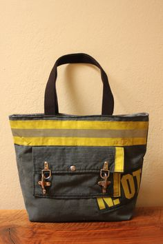 UPDATED for 2015 Recycled Firefighter Turnout Tote by Reskugear