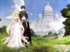 Sailor Moon crystal- mamoru and Usagi!