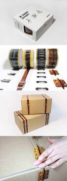 X - tape printed packaging tape