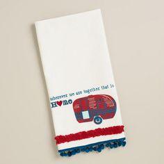 One of my favorite discoveries at WorldMarket.com: Camper Tea Towel