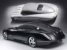 Maybach Exelero and Maybach SW 38 Coupe