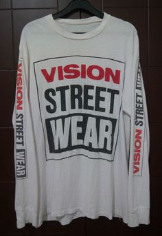 EXTREMELY RARE 1987 VISION STREET WEAR skateboards MARK GONZALES t-shirt #VisionStreetWear