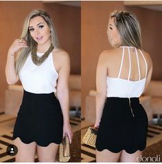 Short Outfits, Summer Outfits, Cute Outfits, Urban Fashion, Fashion Looks, Latest African Fashion Dresses, Fashion Outfits, Womens Fashion, Cute Dresses