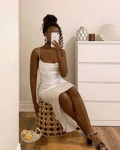 Boujee Outfits, Classy Outfits, Trendy Outfits, Fashion Outfits, Black Girl Fashion, Look Fashion, 2000s Fashion, Cute Dresses, Girls Dresses