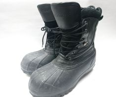LaCrosse 367215 Mens 12'' NMT Waterproof Black Work Boots Sz 8 Thinsulate Ultra | Clothing, Shoes & Accessories, Men's Shoes, Boots | eBay!