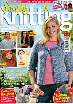 Simply Knitting - April 2009 - Laura C - Álbumes web de Picasa