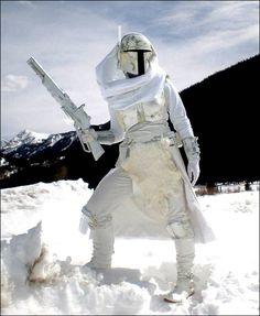 Boba Fett, Hoth Uniform, Star Wars.