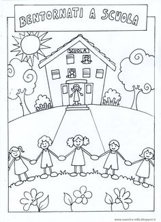 maestra Nella: copertine Penguin Coloring Pages, Free Kids Coloring Pages, Colouring Pages, Coloring Pages For Kids, School Coloring Pages, Kindergarten Crafts, Preschool Activities, Drawing For Kids, Art For Kids