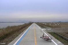 Bicycle Trail along Youngsangang River.