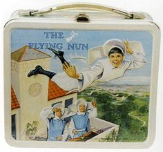 THE FLYING NUN  I had a lunchkit just like this back in 1965!  Wish I still  had it!
