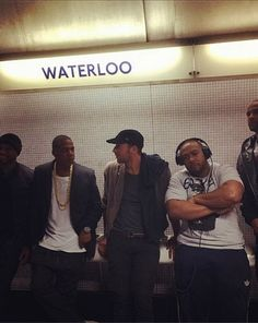 Jinnita Djinn - Google+ - This is actually amazing. Jay Z spotted catching the Tube…