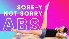 This ab workout made me SO SORE but I was NOT SORRY as Demi Lovato would say! Guys, this is a hard core routine that will sculpt, tone, and tighten your upper abs, lower abs, midsection, and overall core. I'm put together some of my favorite ab exercises full of POP Pilates flair and I promise you that you will BURN so good!  Remember, even if you're doing my workouts to achieve a flat belly or a six pack or Victoria's Secret model abs, the whole point of exercise is BEYOND the physical....