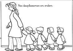 Maestra de Infantil: Hábitos diarios en infantil. Normas y rutinas.