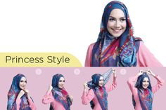 Tutorial jilbab yang menutup dada