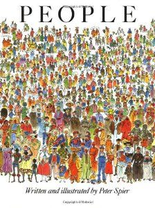 """People"" Peter Spier. Diversidad."