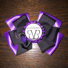 Black Veil Brides Hair Bow Andy Biersack by BowsandMoreGalore12