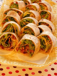 BLT Wraps - Lake Lure Cottage KitchenLake Lure Cottage Kitchen