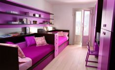 Big girls' bedroom